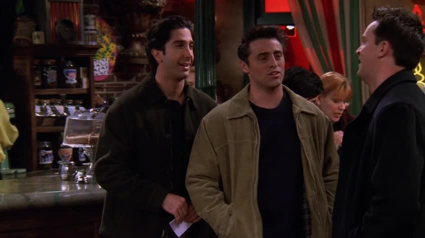 老友记/六人行/Friends 第五季 第十一集 S05E11 The One with All the Resolutions / 新年新气象
