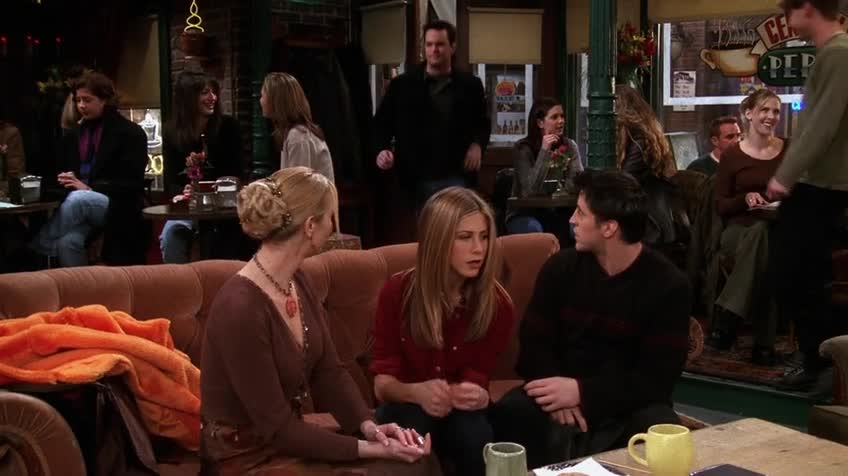老友记/六人行/Friends 第五季 第十四集 S05E14 The One Where Everybody Finds Out / 恍然大悟