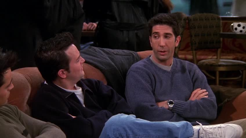老友记/六人行/Friends 第六季 第十二集 S06E12 The One with the Joke / 笑话