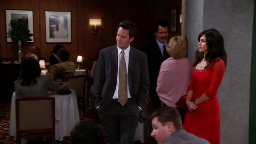 老友记/六人行/Friends 第七季 第十集 S07E10 The One with the Holiday Armadillo / 节日犰狳
