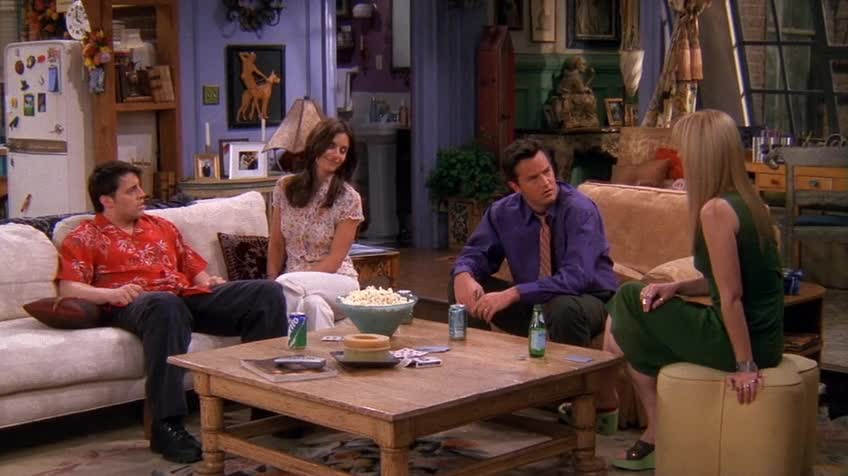 老友记/六人行/Friends 第八季 第二十二集 S08E22 The One Where Rachel Is Late / 迟来的宝宝