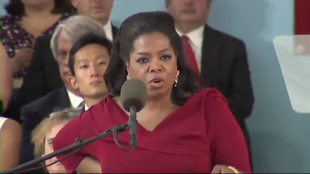 Oprah Winfrey Harvard Commencement speech | Harvard Commencement 2013/奥普拉·温弗瑞哈佛大学2013年毕业典礼演讲