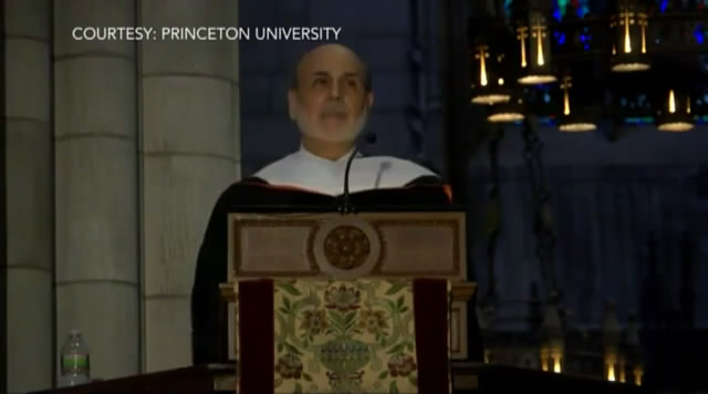 Ben S.Bernanke' s Speech at Princeton University, June 2, 2013/本·伯南克普林斯顿大学2013毕业典礼演讲