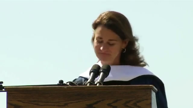Melinda Gates' Graduation Speech at Duke University/梅琳达·盖茨杜克大学2013毕业典礼演讲