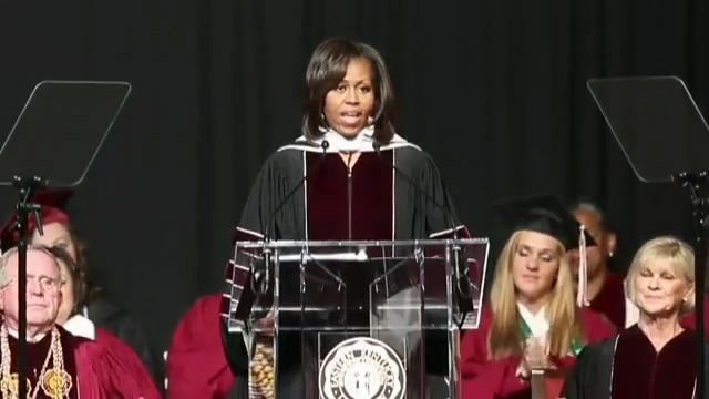 EKU Class of 2013 Commencement Address by First Lady Michelle Obama/米歇尔·奥巴马东肯塔基大学2013年毕业典礼演讲